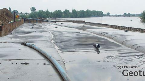 Environmental Dewatering - TenCate Geotube